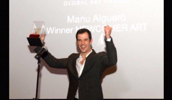 Global Art Awards Manu Algueró Winner Newcomer Art